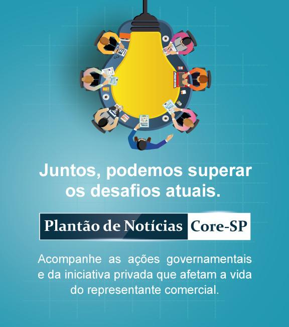 Core-SP | Conselho Regional dos Representantes Comercias do Estado de São Paulo