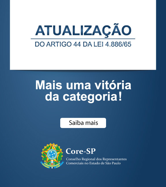 Core-SP   Conselho Regional dos Representantes Comercias do Estado de São Paulo